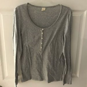 Soft Gray Henley